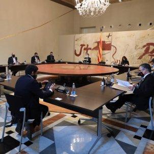 reunión Govern martes 15 des 2020 Jordi Bedmar