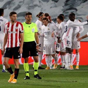 Gol celebracion Real Madrid Athletic EFE