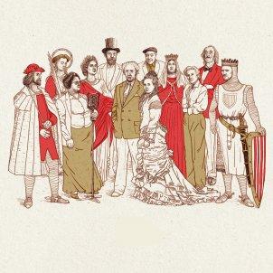 Dibuix Història mundial catalunya