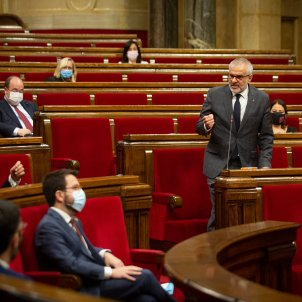 Carlos Carrizosa Pere aragonès Parlament - David Zorrakino / Europa Press