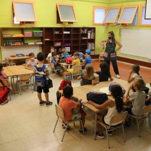 clase colegio mascarilla covid - ACN