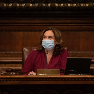 alcaldesa barcelona ada colau sesion plenaria ayuntamiento barcelona -Europa