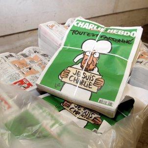 Charlie Hebdo revista després atemptat -Efe