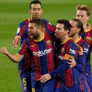 Jordi Alba Messi Barça EuropaPress