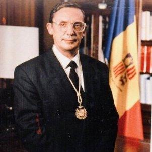 Òscar Ribas Reig, primer cap de Govern d'Andorra / Govern Andorra