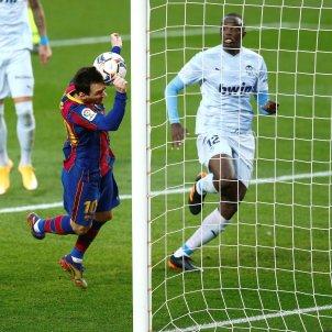 Leo Messi gol Barca Valencia EFE
