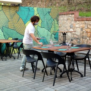 restaurante terraza coronavirus - ACN
