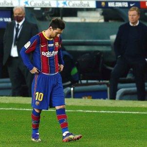 Leo Messi Barca Valencia EFE