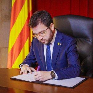 Pere Aragonès decrets eleccions - Arnau Carbonell
