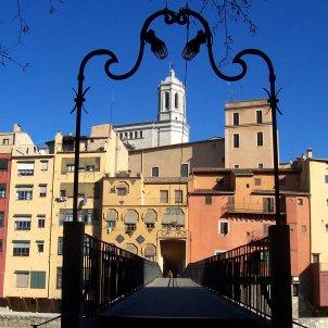 La Catedral i les cases del riu Girona