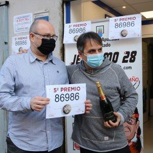 administració loteria Hospitalet Llobregat cinquè premi - ACN