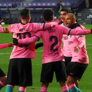 Valladolid Barça EFE