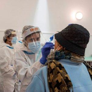 prova pcr coronavirus covid - efe