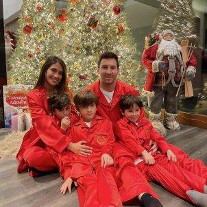 Antonela roccuzzo Leo Messi Navidad 2020 @antonelaroccuzzo