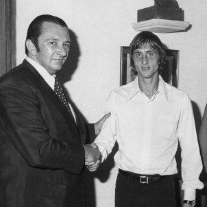 Johan Cruyff Agustí Montal Efe