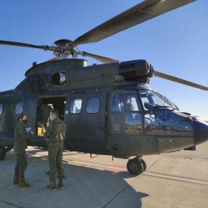 fuerzas armadas reparten vacuna coronavirus españa - @Defensagob