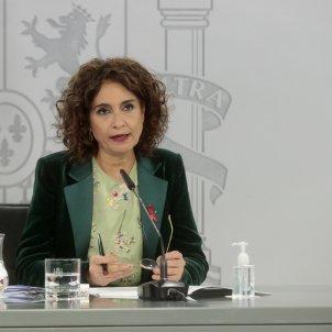 ministra hacienda montero - ACN