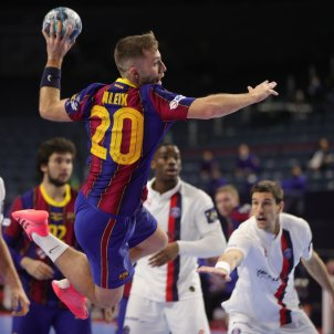 Aleix Gomez Barca balonmano Champions EFE