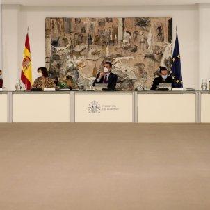 sanchez calvo iglesias consell ministre Pool Moncloa