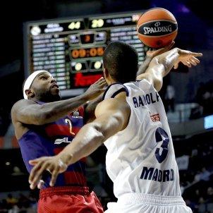 Tyrese Rice Barça Reial Madrid Efe
