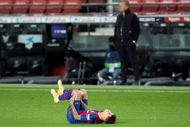 Philippe Coutinho Barca lesion EFE