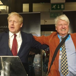 Boris Johnson pare @StanleyJohnson