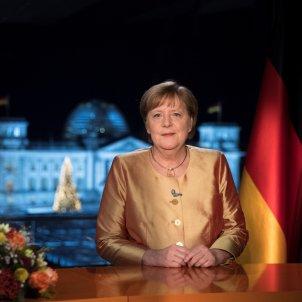 Angela Merkel Cap d'Any EFE