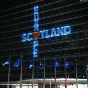 Escòcia edifici de la seu de la Comissió Europea a Brussel·les /  @NicolaSturgeon