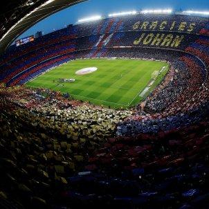 Camp Nou Johan Cruyff mosaic Efe