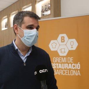 Roger Pallarols Gremi restauració Barcelona ACN