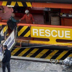 Accident pesquer Barcelona / EFE