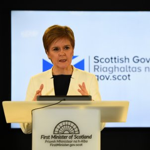 EuropaPress - scotland edinburgh scotlands first minister nicola sturgeon