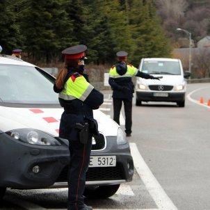 control mossos carretera - ACN