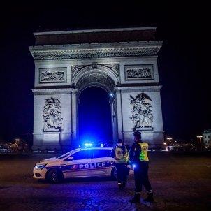 Francia coronavirus arco de triunfo Europa -efe