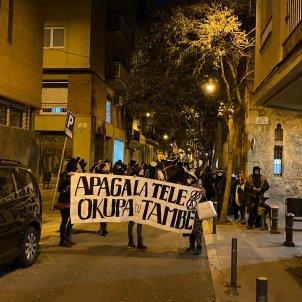 rua okupa barrio de gracia de Barcelona - Guillem RS