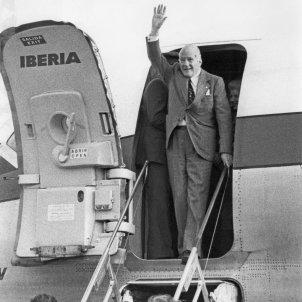 TARRADELLAS EL PRAT 23 10 1977 EFE