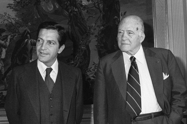 TARRADELLAS SUAREZ 22 OCT 1977 EFE