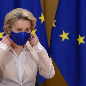 von der leyen comision europea mascarilla - Efe