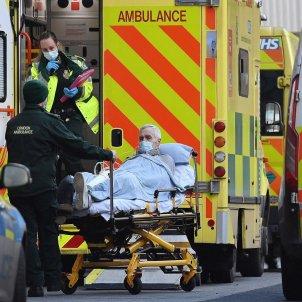 ambulancia reino unido covid - Efe