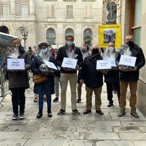 comerciantes restauración plaça sant jaume - ACN