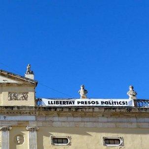 Pancarta Ajuntament de Tarragona @esquerratgn