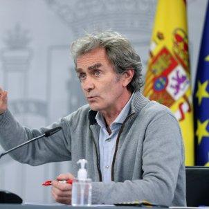 Fernando Simón rueda de prensa covid-Efe
