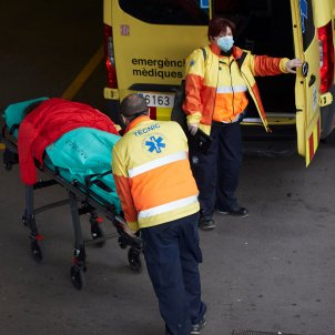 coronavirus ambulancia catalunya coronavirus - Efe