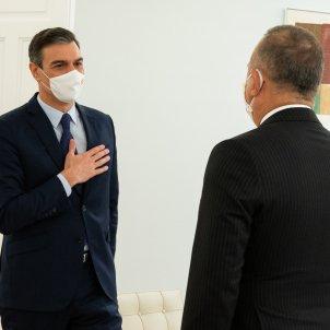 Pedro Sánchez i Mevlüt Çavusoglu / @desdelamoncloa