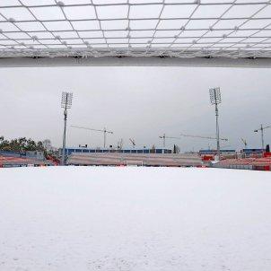 Ciudad Deportiva Atletico de Madrid nieve EFE