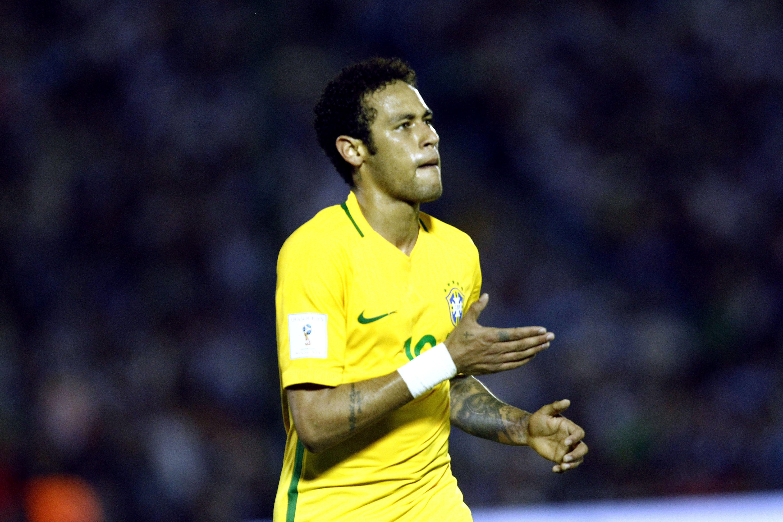 Neymar Brasil Uruguai   EFE