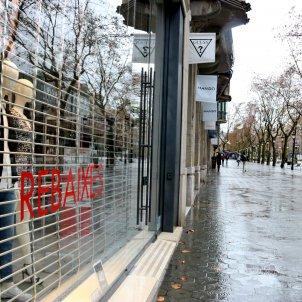 botiga comerç tancat coronavirus covid restriccions - acn