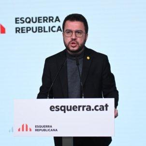 Pere Aragonès Elecciones 14 F Catalunya ACN