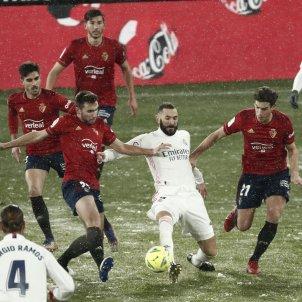Benzema Real Madrid Osasuna EFE