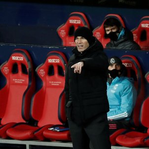 Zidane Osasuna Real Madrid EFE